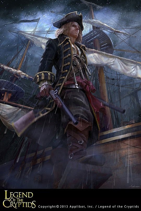 Pirate artwork