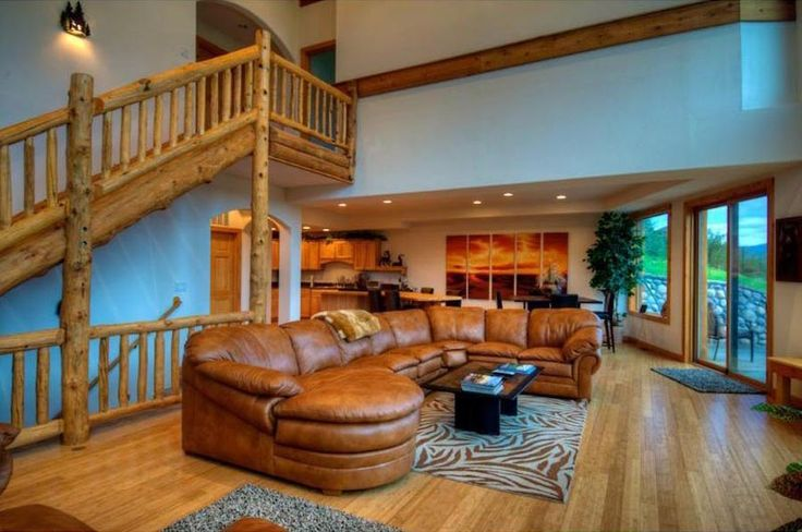 Log home interior design log cabin home interior design ideas pin Interior design ideas log home