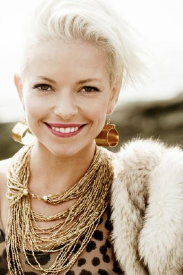 """Swedish singer Petra Marklund. Singer for the band """"September"""", has recently gone solo."""