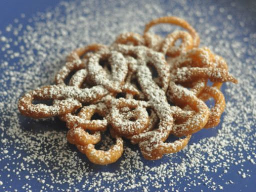 Easy Funnel Cake Recipe on Yummly | Favorite Recipe's | Pinterest