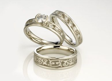 ...  Unique Wedding Rings  Wedding Bands | Men  Women - Rings Unique
