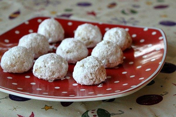 Gluten free orange- almond snowballs from RecipeGirl ( for gluten free ...