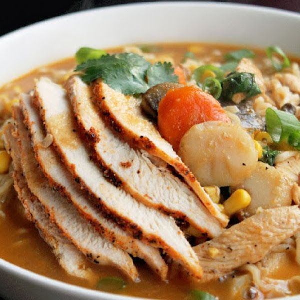 Roasted Chicken Ramen Noodle Soup | WildCanadaSalmon -Pin To Us! (Sha ...