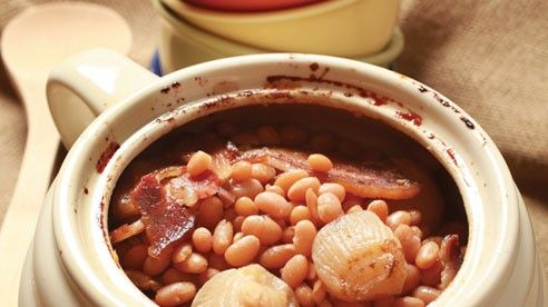 Cider Baked Beans With Smoky Bacon | Anita's Cookbook | Pinterest
