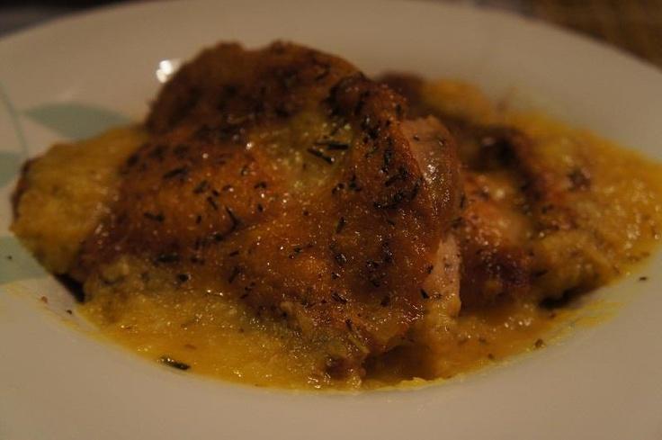 Rosemary Chicken with Orange Sauce | Chicken | Pinterest