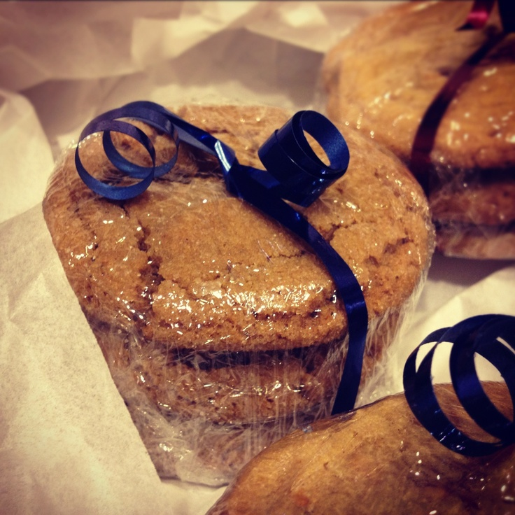 """Ginger cookies and Chocolate Chip Toffee cookies for """"Desserts for the ..."""