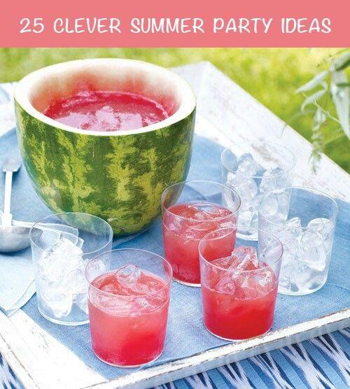 Watermelon Punch | Girls Birthdays | Pinterest