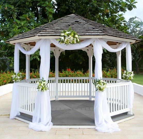 gazebo wedding ideas pinterest