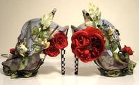 Alice In Wonderland stilettos WOW!
