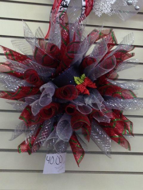 Mesh Wreath Mesh Pinterest