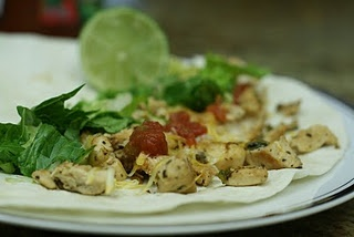 Lime Chicken Soft Tacos | Mexican | Pinterest