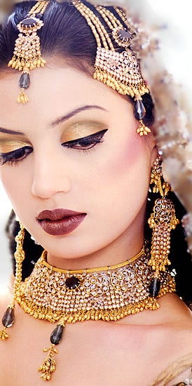 Indian Wedding Jewelry #bridal #makeup