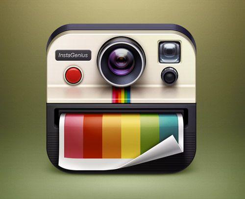 InstaGenius App Icon   Digital Illustrator: Artua