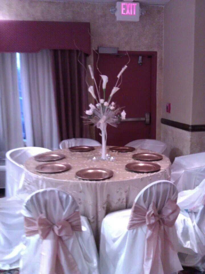 Simple wedding table settings ideias p mari pinterest for Wedding table settings