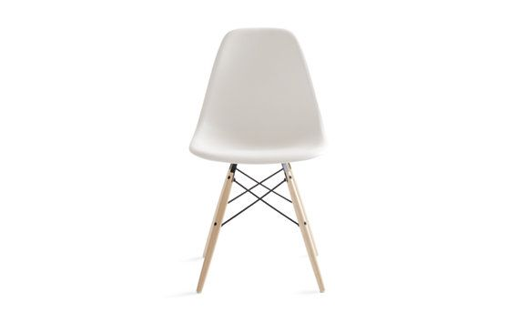 Molded Plastic Dowel-Leg Side Chair (DSW), Maple / Eames® {is this chair worth the splurge? i'd like to use it for my office...}