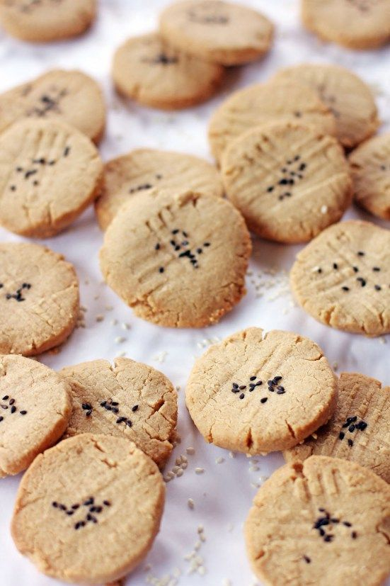 Tahini and Almond Cookies | Love to eat & drink ! | Pinterest