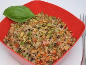 Protein Power Salad | Vegeterian Delight | Pinterest