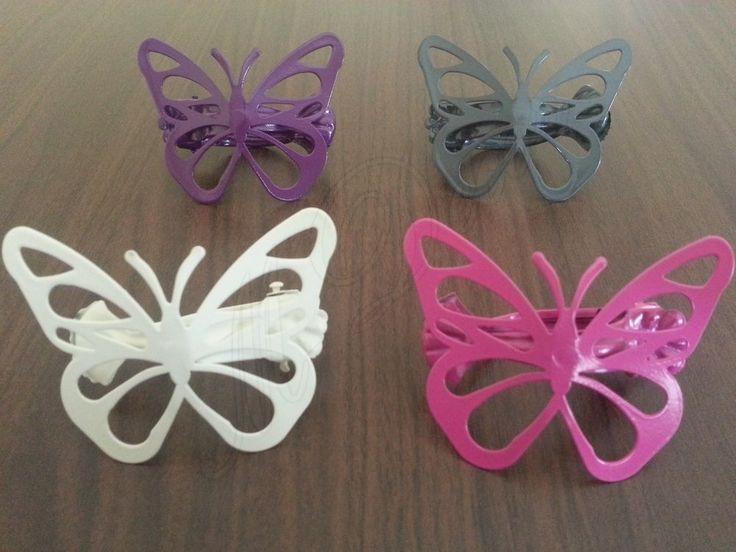 Metal Clip Holder Tie Backs Curtain Window Home Decoration Butterfly