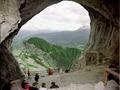 The Werfen ice caves -- amazing caves and breathtaking views.