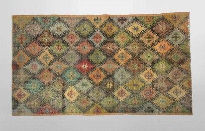 Tapis patchwork turc