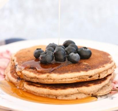 Blueberry Multigrain Pancakes | Recipe