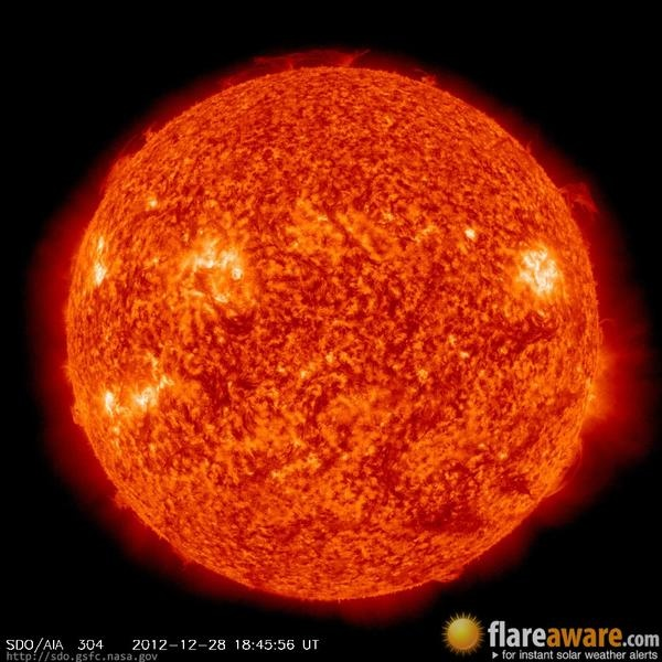 Solar Storm Now - Pics about space
