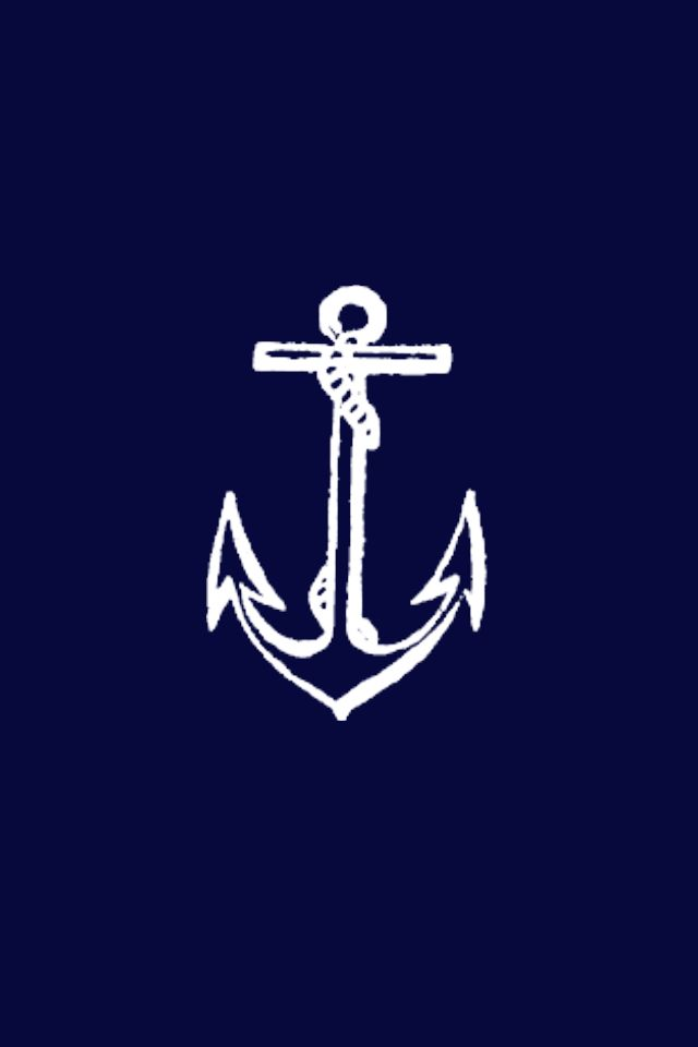 anchor blue lock screen fave iphone wallpapers pinterest