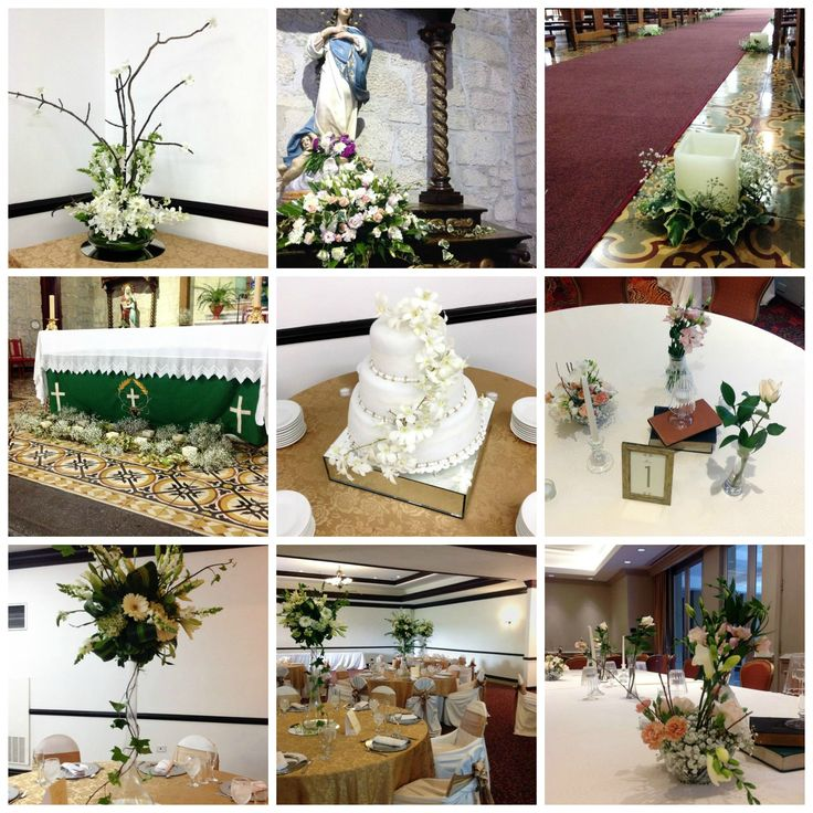 Decoracion Bodas De Oro ~ Decoraci?n floral Boda de Oro  Arreglos florales ROMERO  Pinterest