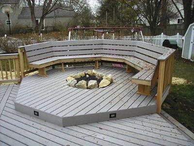 Fire Pit Seating Area Troy Pinterest