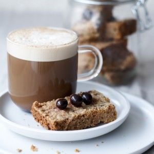 Espresso-Bean Shortbread Recipe — Dishmaps