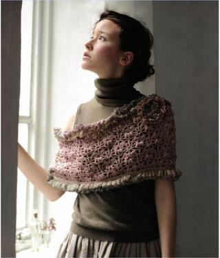 stola :: japanese crochet magazine via issuu