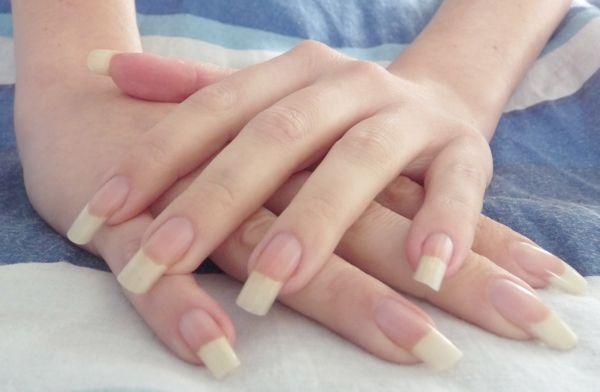 Natural Long Nails Tumblr Long natural nails