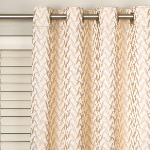 Eyelet curtains over horizontal blinds   Home   Pinterest