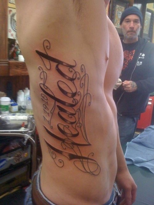 tattoos for men writing Chest tattoos for men writing picture that you see right now is the best picture from the others with the same brand and type our aim to post this picture is to.