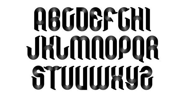 Vinilo Font On Typography Served Typography Pinterest