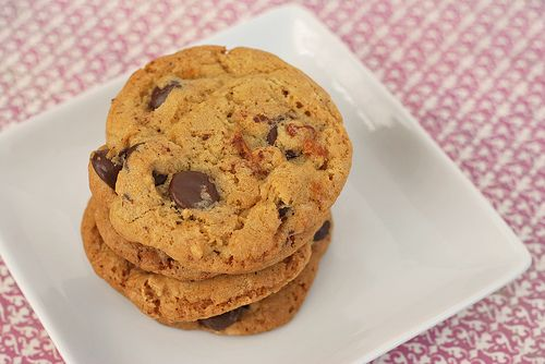 Candied Bacon Chocolate Chip Cookies | YUM - Cookie Exchange | Pinter ...