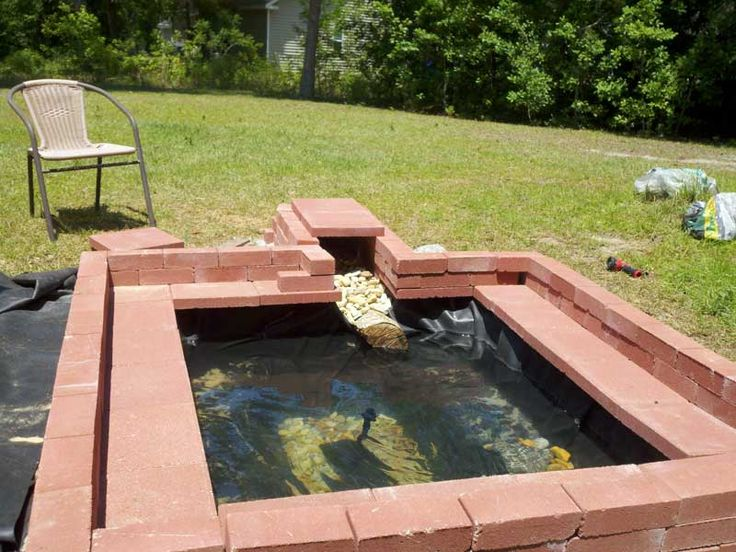 Turtle tank outdoors homemade turtle tanks turtle for How to build an outdoor aquarium