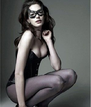 Anne Hathaway - Catwoman diet. Did you see how she looked in her leather catsuit? Hot damn.