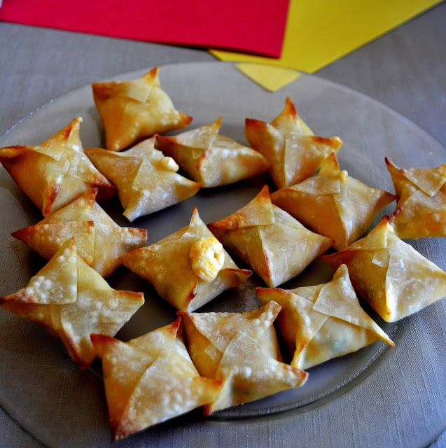 Jalapeno Popper Wontons | Recipes | Pinterest