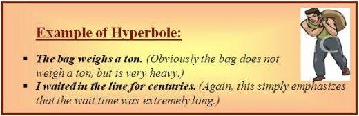 Hyperbole examples hyperbole example