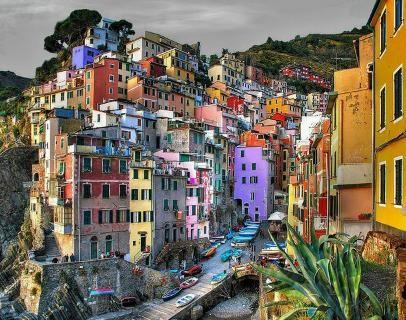 Always living in color - Riomaggiore, Italy
