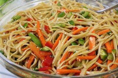 sesame noodles sesame noodles gingered sesame noodles lighter sesame ...