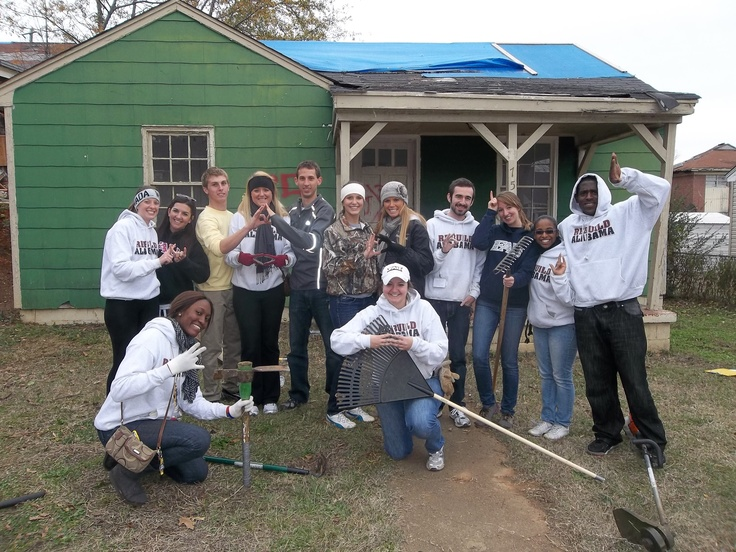 FAU F/S Members at our 2011 Winter Leadership & Immersion Trip to Tuscaloosa, AL