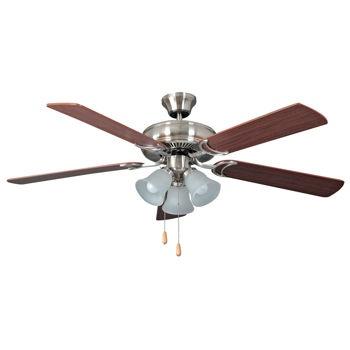 "Litex 52"" Decorator's Choice Ceiling Fan, costco"