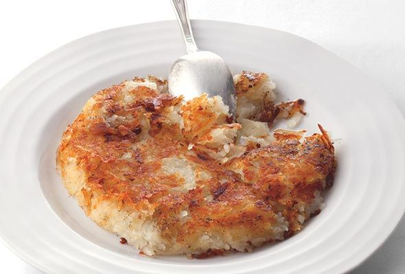 Crisp Potato Cakes   Recipe