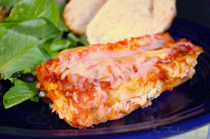 Manicotti Spinach Ricotta | Recipe