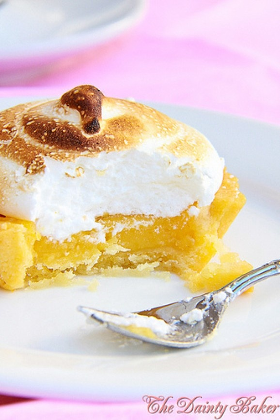 Mango Lemon Meringue Tartelettes | Desserts | Pinterest