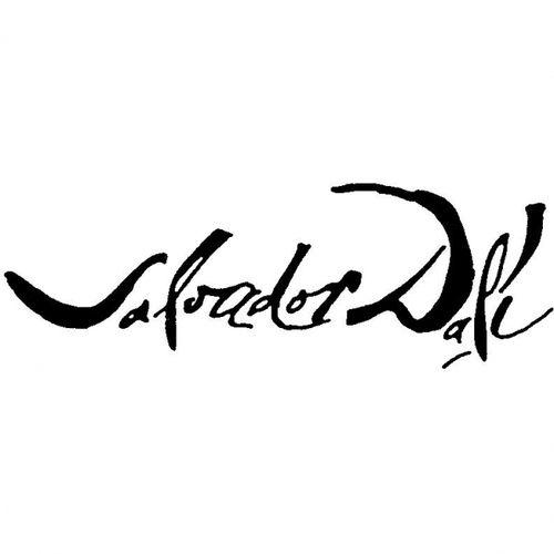 The signature of Salvador Dali | El Art-O | Pinterest