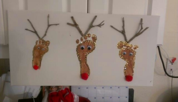 Reindeer feet | Crafts | Pinterest