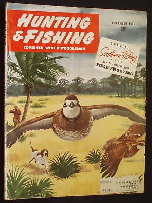 Hunting and fishing magazine december 1951 for Hunting and fishing magazine